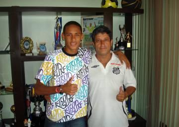 Neymar adolescente