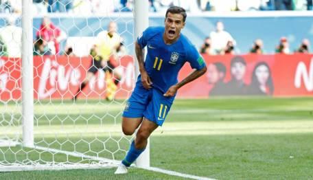 Brasil vence Costa Rica Copa Coutinho