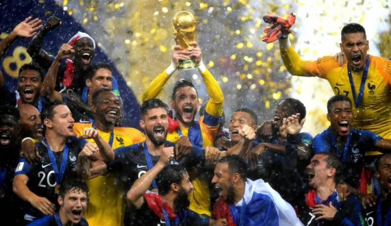 França campeã Copa do Mundo Mbappe Croacia