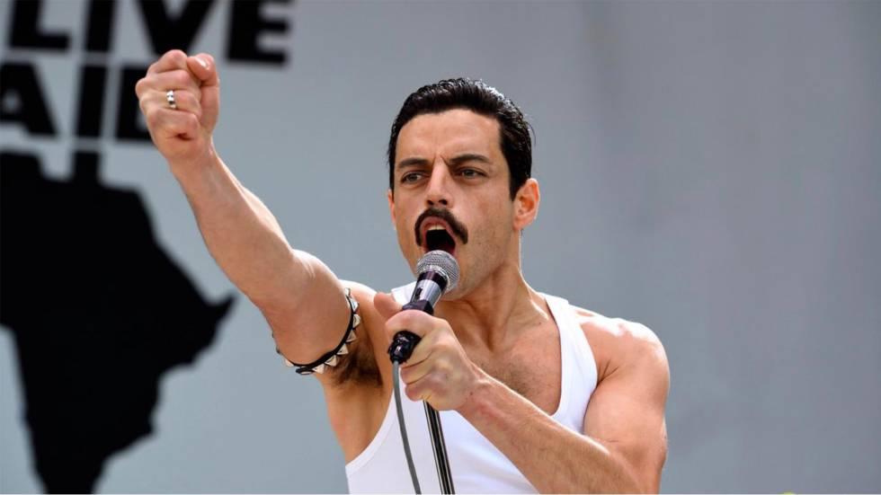 Rami Malek como Freddie Mercuriy.