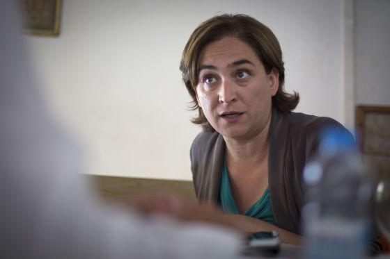 Ada Colau. | Joan Sánchez/ El País
