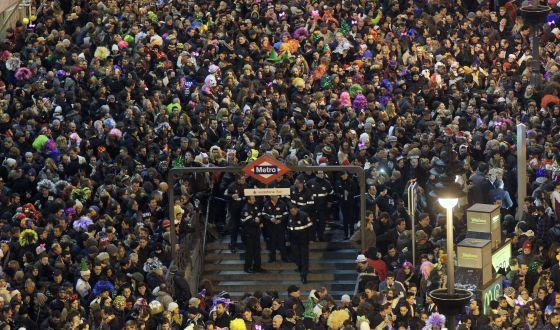 Nochevieja 2015 en la Puerta del Sol