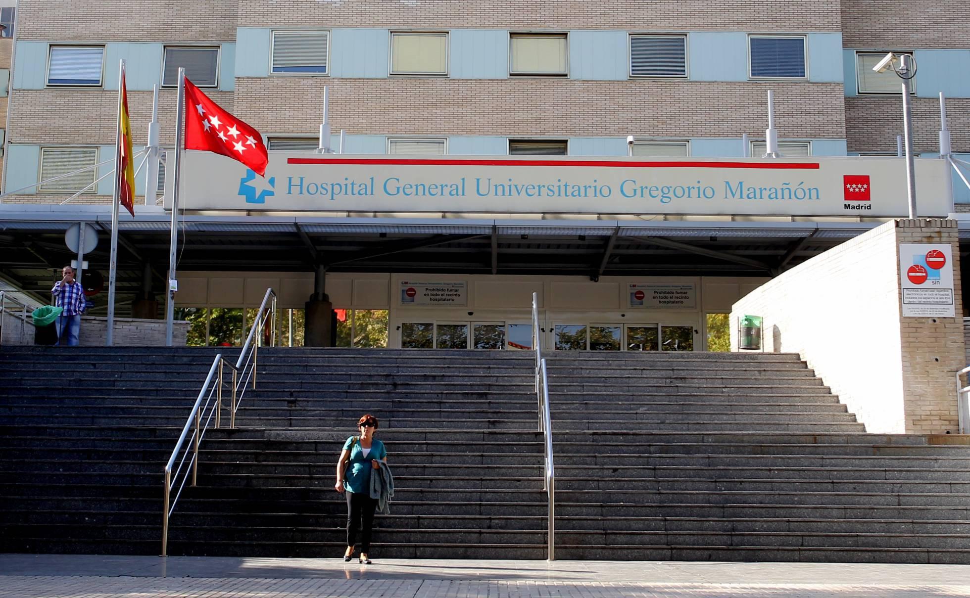 Entrada del hospital Gregorio Marañón. JAIME VILLANUEVA