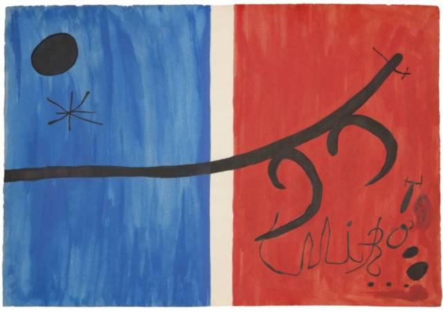 'El vol de l'alosa', de Joan Miró (1973).