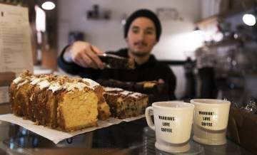 Dulces en Toma Café.