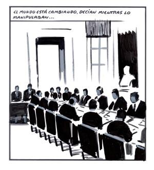 Resultat d'imatges de políticos honestos El Roto