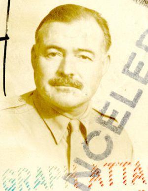 Pasaporte de Ernest Hemingway