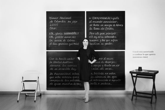 María Paz Gaviria, directora de la feria artBO