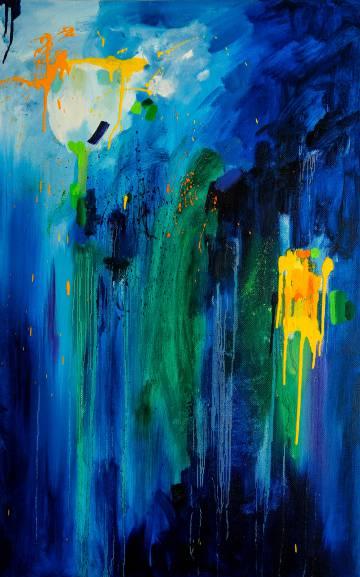 'Tulip', una obra de Alexandra Melnikova, artista rusa que vende su trabajo a través de WYDR.