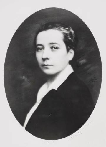 Mathilde Pomès, en 1931