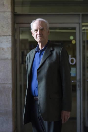 El escritor y filósofo canadiense Charles Taylor, en Barcelona en agosto de 2015.