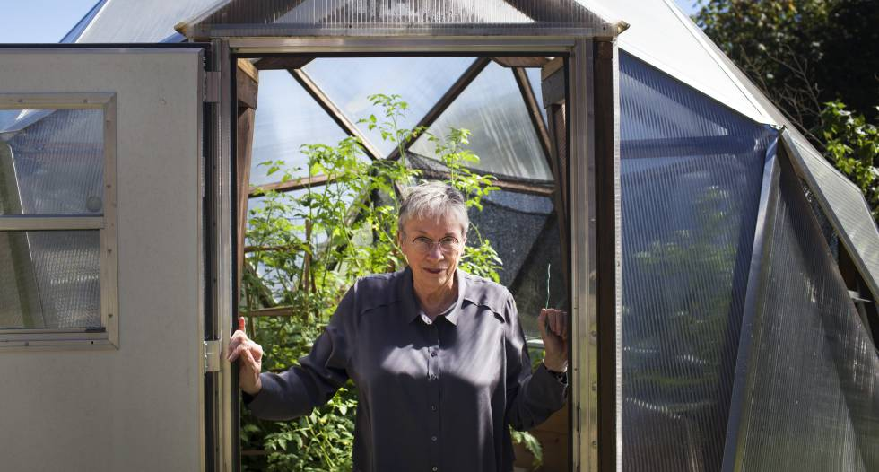 Annie Proulx, en su casa de Carnation, Seattle.