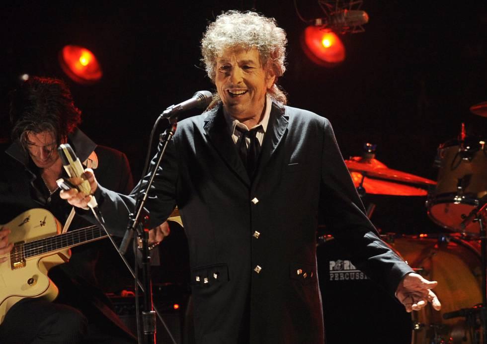 Bon Dylan durante un concierto en Los Ángeles.