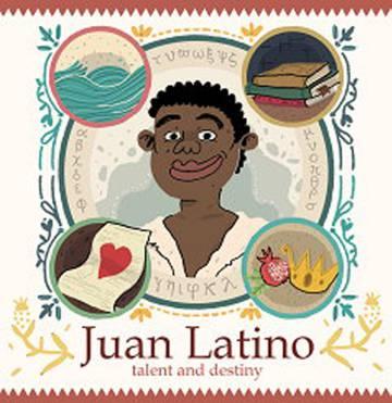 Portada del libro para niños 'Juan Latino', de Aurelia Martín.