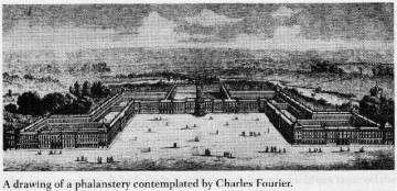 Falansterio modelo de Charles Fourier.
