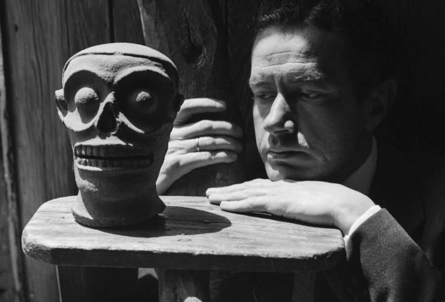 Juan Rulfo retratado en México DF en1950.