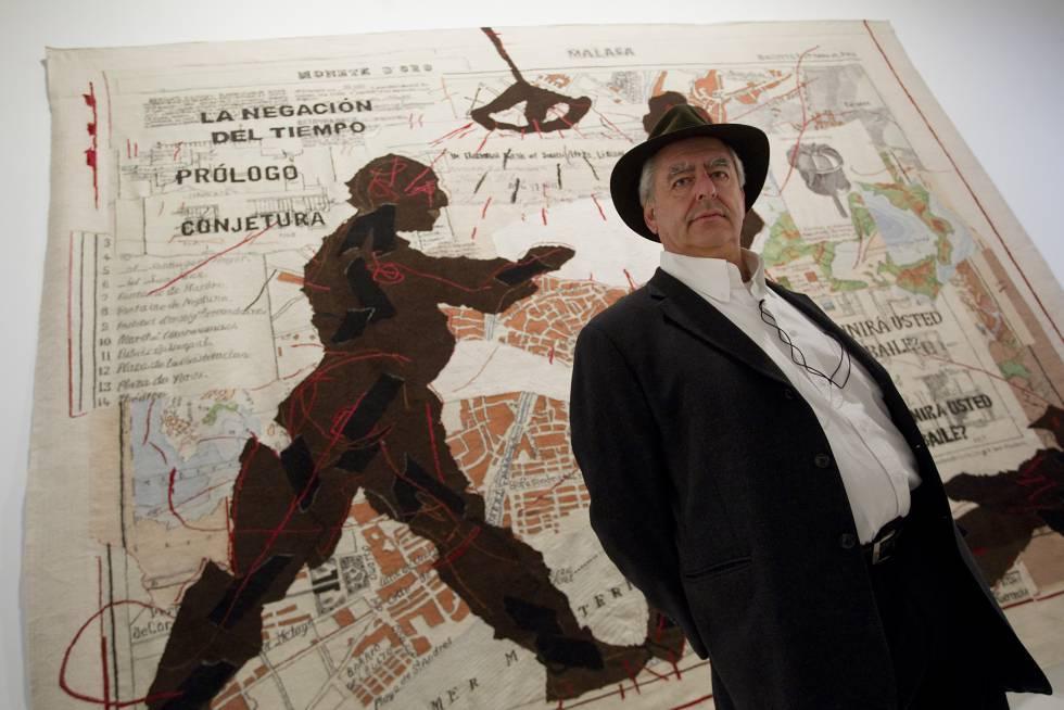 El artista sudafricano William Kentridge, en el Centro de Arte Contemporáneo ( CAC) de Málaga, en 2012.