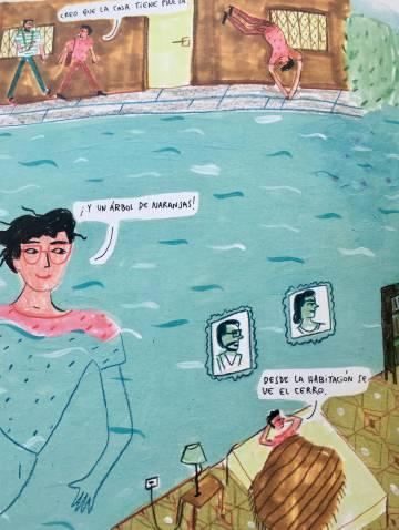 Un extracto de 'Casa transparente' de María Luque.