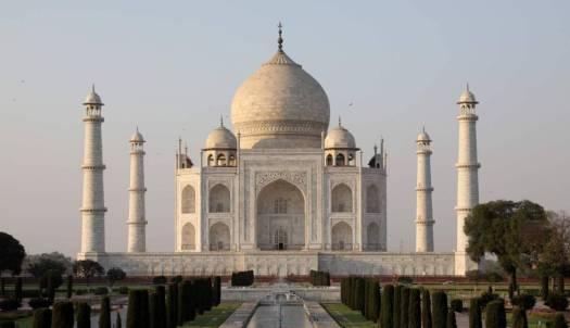 El Taj Mahal, fotografiado el pasado marzo.