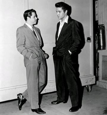 Gatica con Elvis Presley