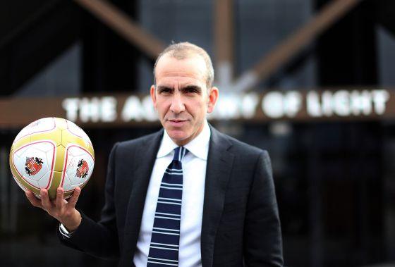 Di Canio, durante su presentación como entrenador del Sunderland