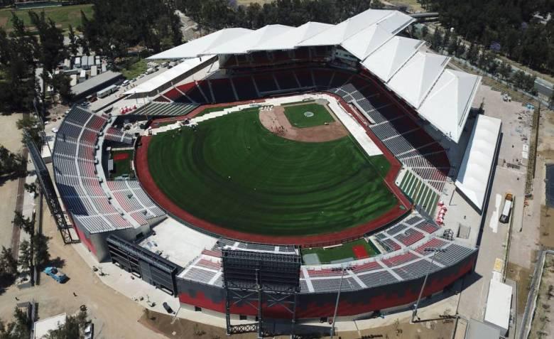 El nuevo estadio de los Diablos Rojos, de Ciudad de México.
