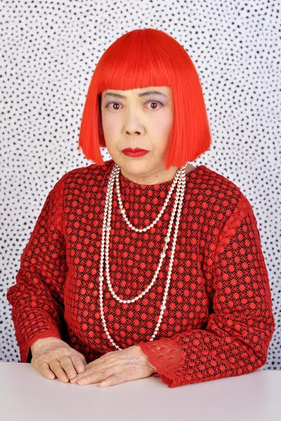 La artista japonesa Yayoi Kusama. / ESTUDIO YAYOI KUSAMA