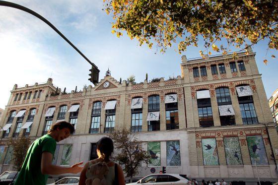 Fachada de la Casa Encendida (Madrid). / LUIS SEVILLANO