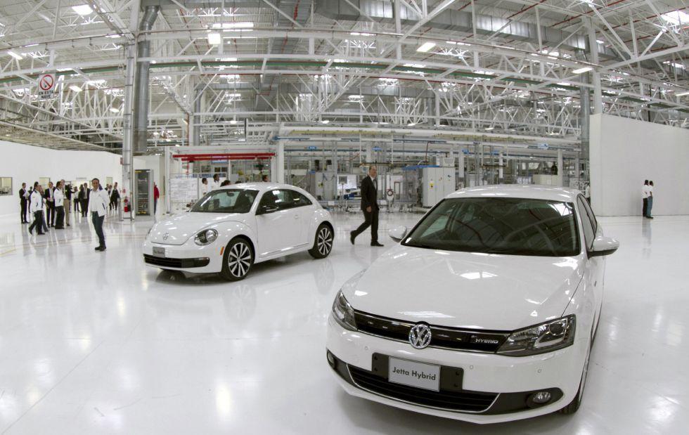 La fábrica de Volkswagen en Guanajuato