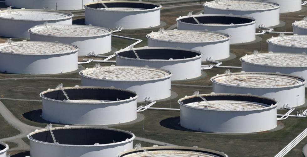 Tanques para el almacenamiento de petróleo