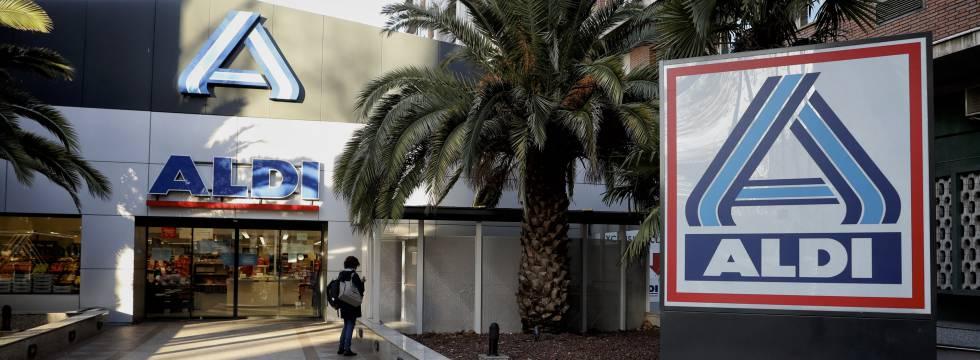 Aldi Norte es la empresa que gestiona las tiendas de la marca en España. En la foto, un supermercado en Madrid.