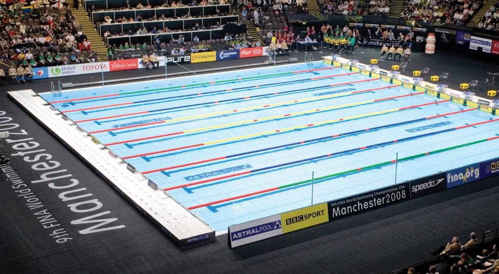 Piscina olímpica de Manchester construida pro Fluidra.