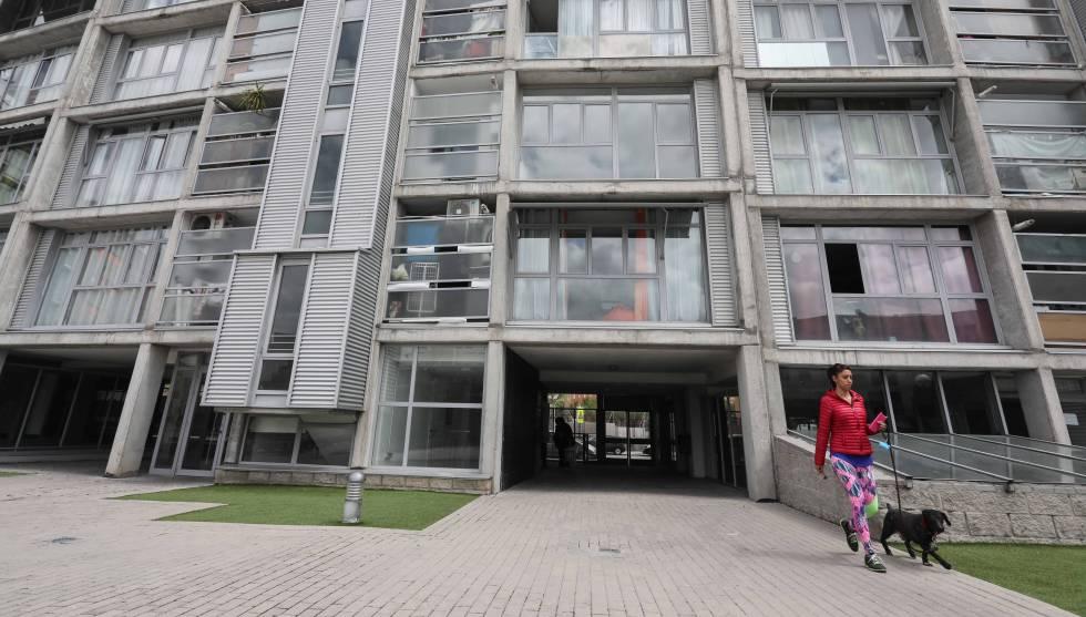 Bloque de viviendas de alquiler del fondo buitre Fidere en Madrid.