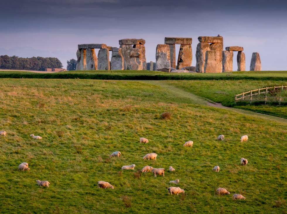 Monumento neolítico de Stonehenge.