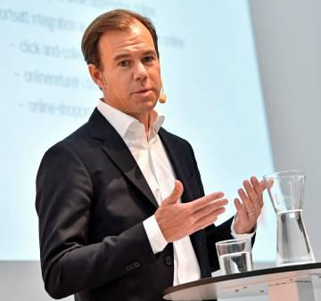 El primer ejecutivo de la cadena de moda sueca H&M, KArl-Johan Persson