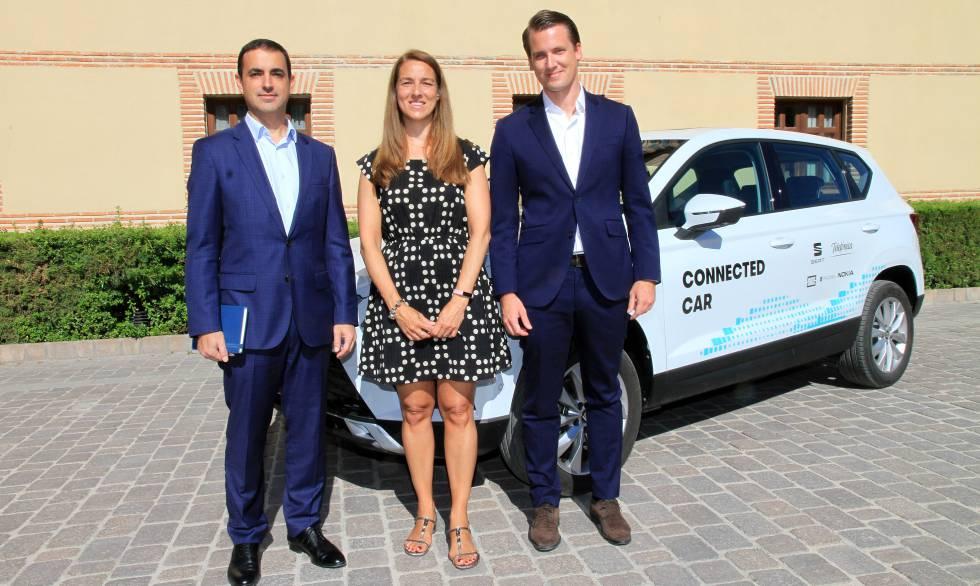 El proyecto de Telefónica y Seat del coche conectado.