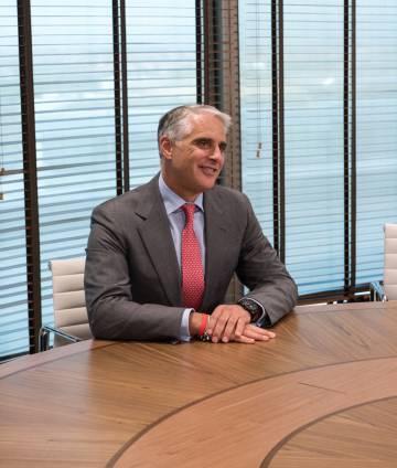 Andrea Orcel, consejero delegado del Banco Santander
