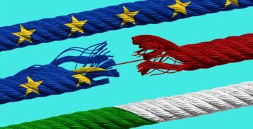Italia tensa la cuerda del euro