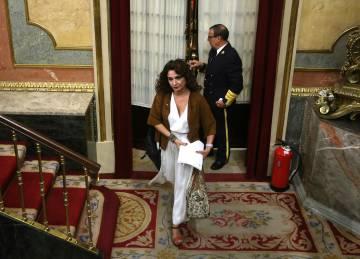 Ministra de Hacienda, María Jesús Montero.