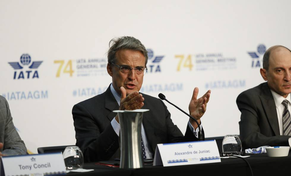 El director general de IATA, Alexandre de Juniac.