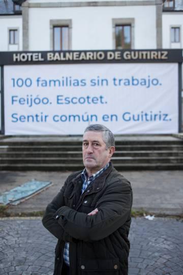 Fernando, último trabajador del balneario.