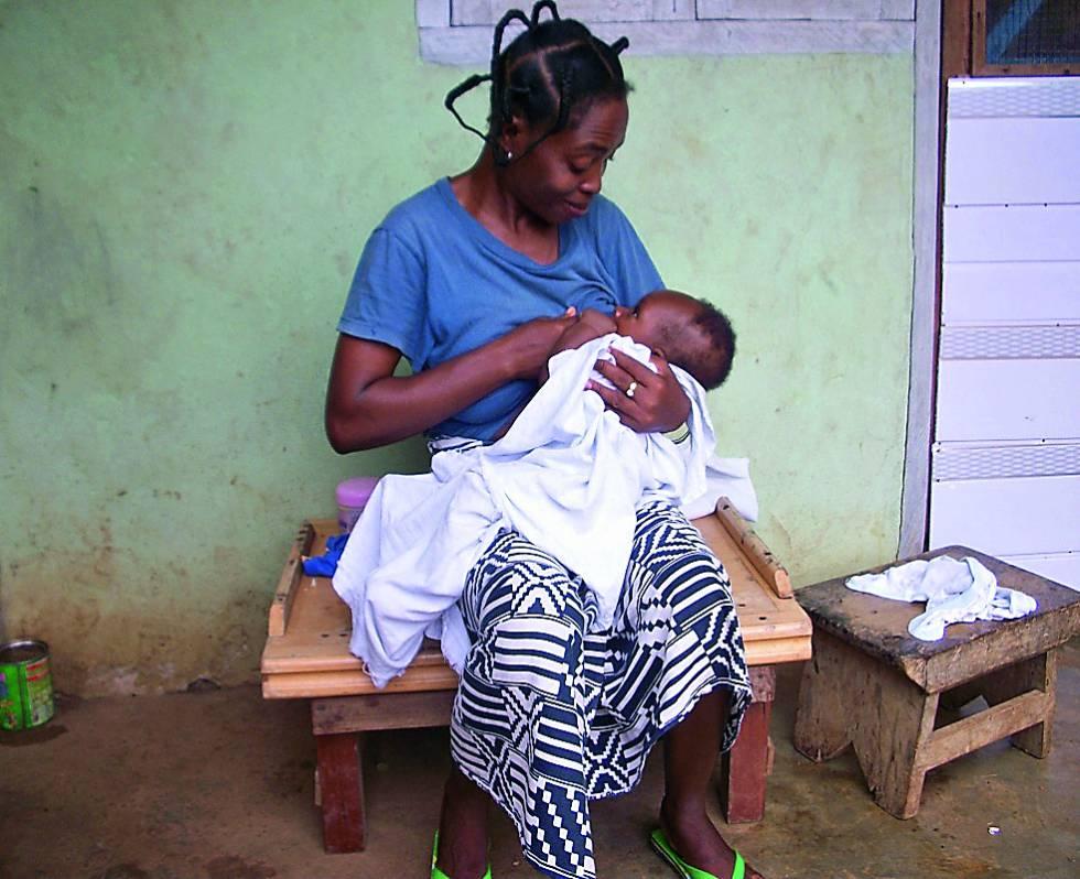 La acción de mejora del acceso a los servicios de salud materno infantil en Volta (Ghana).