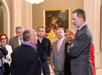 Felipe VI, reunido con la ejecuvitva confederal de UGT.