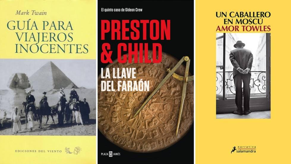 Libros recomendados por Ramón Aragonés, Jaume Miquel y Juan José Brugera.