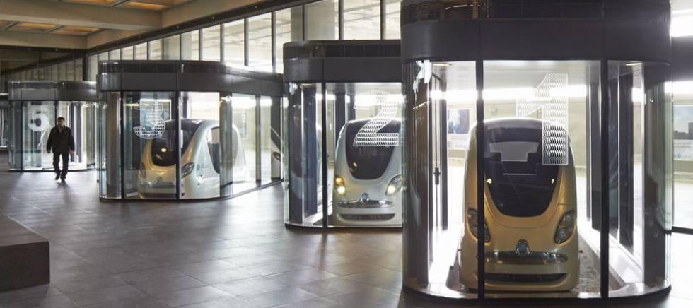 Cabinas de transporte en Mastar.
