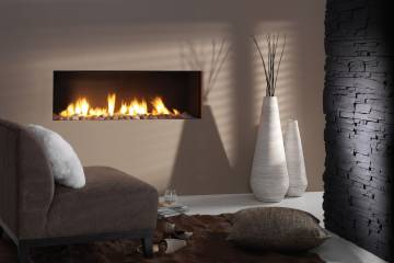 Chimenea que imita de forma realista el fuego.
