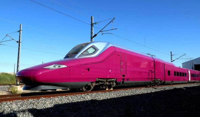 Talgo 112 for Renfe's low-cost AVE.