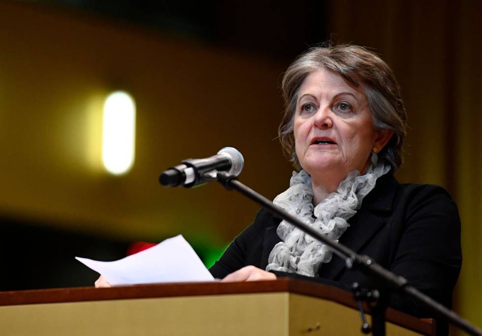 La comisaria Elisa Ferreira.