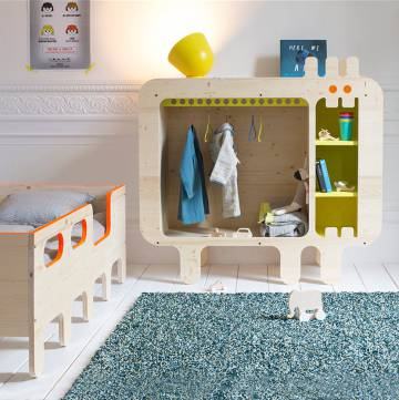 Mueble infantil de Xo-in my room.