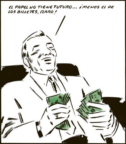 Viñeta de El Roto del 25 de abril del 2012 (El País)